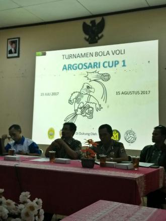 12 Tim Akan Bersaing dalam Turnamen Bola Voli Argosari Cup I