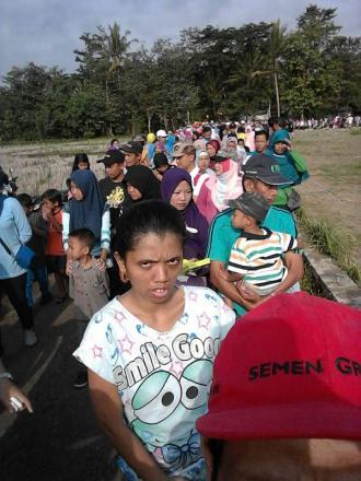 2.400 Tiket Habis Terjual di Jalan Sehat Tarunasari Argosari