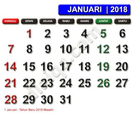 JANUARI 2018
